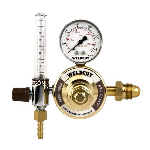 Reguladores de Pressão Série 8000 - Argônio com Fluxômetro