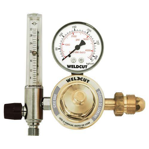 Reguladores de Pressão Série 8000 - CO2 com Fluxômetro